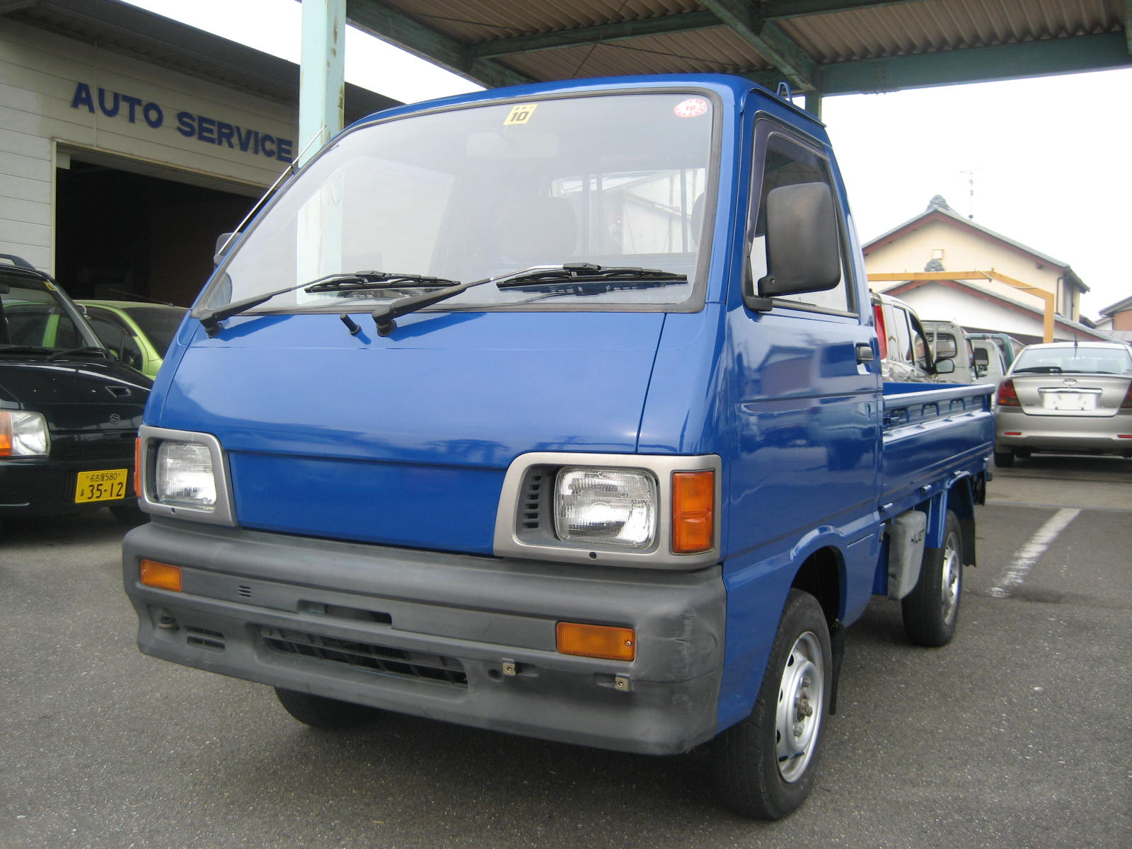 Blue Custom Paint 92 Daihatsu Hijet Japan Japanese Mini Truck Photos 006