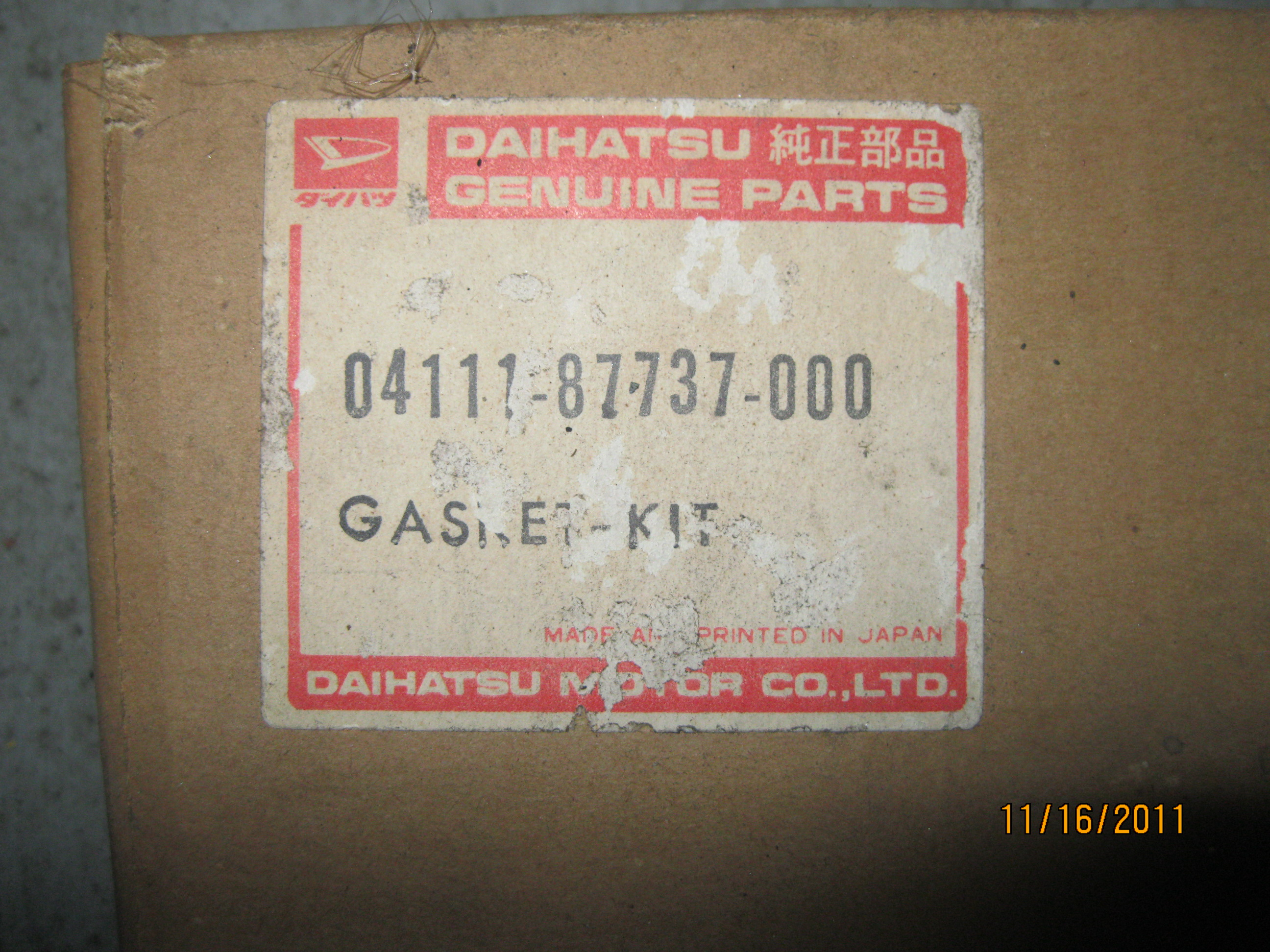 Daihatsu hijet engine (Short Block) and other parts | Japanese Mini
